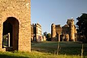 Royal Enclosure, Fasil's Archive and Fasilidas Castle Gondar ethiopia