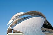 Palau de les Arts, City of Arts and Sciences. Valencia, Comunidad Valenciana, Spain.