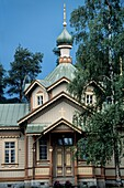 Finland, Karelia, Joensuu, St Nicholas orthodox church