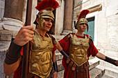 Roman guard, Diocletian's Palace, Split, Split-Dalmatia, Croatia