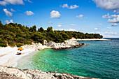 Bathing bay, Mara Milna, Milna, Hvar, Split-Dalmatia, Croatia