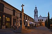 Iglesia de San Antonio in the evening, Denia, Province Alicante, Spain