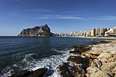 Penon de Ifach, Playa la Fossa, Calp, Province Alicante, Spain