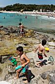 Beach life, Teulada Moraira, Province Alicante, Spain