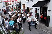 Church parade, Altea, Province Alicante, Spain