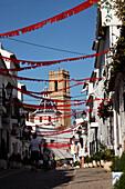 Nuestra Senora del Consuelo church, old town, Altea, Costa Blanca, Benidorm, Province Alicante, Spain