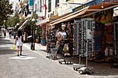 Shopping street, Agios Nikolaos, Lasithi, Crete, Greece