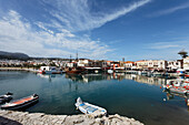 Old venetian port, Rethymnon, Crete, Greece