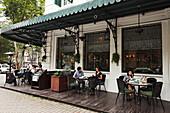 Restaurant, french quarter, Hanoi, Bac Bo, Vietnam