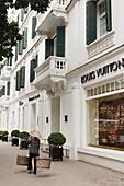 Shopping street, french quarter, Hanoi, Bac Bo, Vietnam