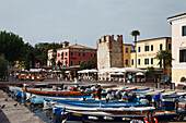 Harbor Tower, Bardolino, Lake Garda, Veneto, Italy