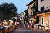 Market, Torri del Benaco, Lake Garda, Veneto, Italy
