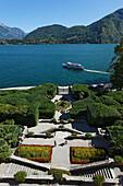Park, Villa Carlotta, Tremezzo, Lake Como, Lombardy, Italy