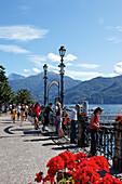 Seafront, Menaggio, Lake Como, Lombardy, Italy