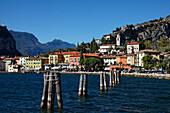 View over Torbole, Lake Garda, Trento, Italy