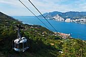 Funiculare Monte Baldo, Malcesine, Lake Garda, Veneto, Italy