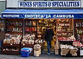 Delicatessen Shop, Stresa, Lago Maggiore, Piedmont, Italy