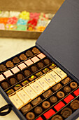 Chocolates Gianduiotti, Stratta, Turin, Piedmont, Italy