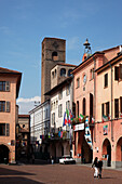 Old Town, Alba, Langhe, Piedmont, Italy