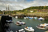 Amlwch harbour, Anglesey north wales UK