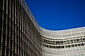 The Berlaymont European Commission Building in Brussels Belgium