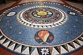Floor Mosaic County Arcade Leeds West Yorkshire England