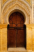 A traditional Doorway in the Medina, Meknes, Morocco, North Africa