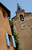 Church tower of Roussillon. Vaucluse. France