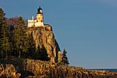 Split Rock Lighthouse on the north shore of Lake Superior near Silver Bay, Minnesota, USA