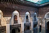 Sahrij medersa in the Andalusian quarter, Fez, Morocco