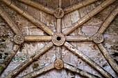 Vault, 'Capilla de Santiago,  Chapel of Santiago, Melilla la Vieja, Melilla, Spain, Europe