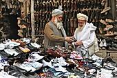 shoemarket in Mazar-i-sharif Afghanistan