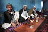 Teashop in Mazar-i-sharif afghanistan