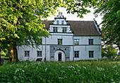 Torhaus im Schlosspark Husum, Schleswig-Holstein, Deutschland