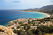 Algajola, North-west coast, Balagne region, Corsica, France, Europe