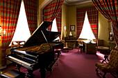 Musikzimmer, Liszt-Haus, Weimar, Thuringia, Germany, Europe