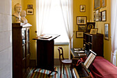 Study at Mendelssohn House in Goldschmidtstraße, Leipzig, Saxony, Germany, Europe