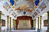 Theater, Ottobeuren Abbey, Ottobeuren, Bavaria, Germany, Europe