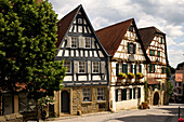 Schiller's birthplace, the birth place of the classical poet and dramatist, Friedrich Schiller, Marbach am Neckar, Baden-Württemberg, Germany, Europe