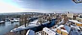 Friendship Island, Old and New Journey of the Havel, Potsdam, Brandenburg, Germany