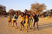 namibia, Little boys to Sesfontein