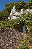 Little Chapel ST MARTIN GUERNSEY Small church Virgin Mary icon figure shrine Les Vauxbelets Guernsey