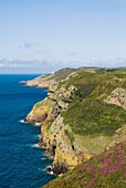 Ile Agois ST MARY JERSEY National Trust North coast property view from coastal path