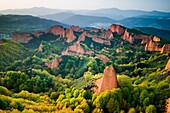 Las Medulas Cultural Park UNESCO World Heritage Site El Bierzo region Leon Castile and Leon Spain, Europe