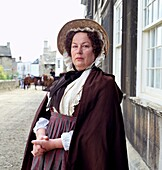 Pam Ferris as Mrs Dollop in a film adaptation of George Eliot's Middlemarch