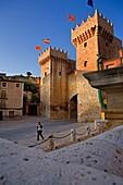 Spain, Zaragoza province, Daroca: Low door / Puerta baja