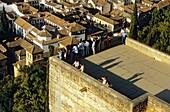 Alcazaba, Torre de las Armas and Albaicin quarter Alhambra, Granada Andalusia, Spain