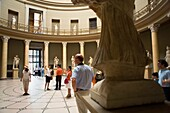 Museum Island Altes Museum Lobby, inspired by the Pantheon of Rome Berlin Germany