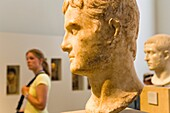 Museum Island Altes Museum Roman bust from Magnesia in turkia Berlin Germany