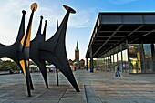 Kulturforum Neue Nationalgalerie Mies van der Rohe Berlin Germany